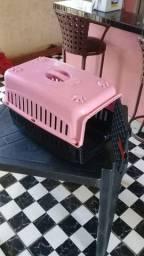 Casinha para transporte de gatos
