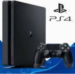 PlayStation 4 slim 500 GB com jogo e ainda na garantia 6 meses