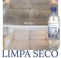 Limpa seco p sofás e bancos de carro.