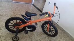Vendo bicicleta aro 16 toda original semi-Nova