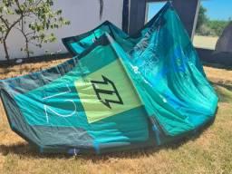 kitesurf north dice 12 metros 2018  sem barra