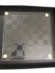 Kit Jogo De Xadrez/jogo Da Velha Cristal/vidr Roberto Simões