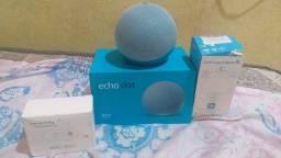 Echo Dot 4 (+ luz inteligente , e uma tomada inteligente )