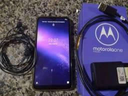 Motorola One Macro   Aceito cartão   avista tem desconto  