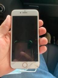 iPhone 8 64GB trincado funcionando perfeitamente