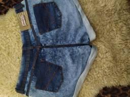 Short jeans, tamanho 46