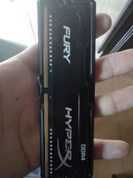 Memória DDR4 HyperX 4gb (Pc)