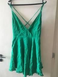 Vestido Lindo Verde Forever 21