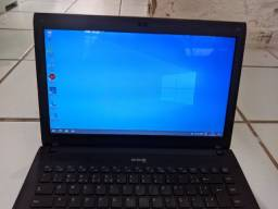Notebook CCE Iron 745b para uso básico ou retirada de peças