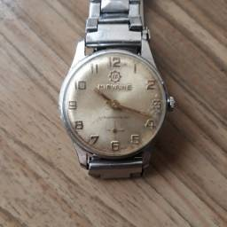 MIRVAINE Relógio feminino a corda década de 60