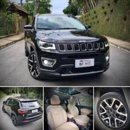 Imperdível!! Maravilhosa Jeep Compass Limited 2019 único dono TETO PANORÂMICO