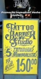 5 tattoo minimalista imperdivel