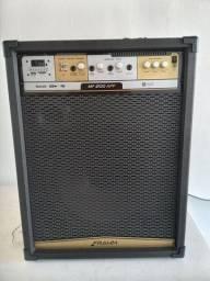 Caixa amplificada auto falante 15 FM pendrive broetooth cartão memória auxiliar controle