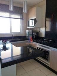 Apartamento com 2 dormitórios à venda, 67 m² por R$ 260.000 - Edifício Copacabana - Cathar