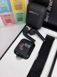 Kit-Smartwatch P70 + InPonds i12<br><br><br><br>