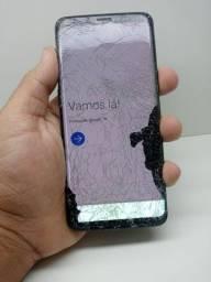 Galaxy S9 danificado