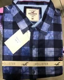 Camisa social Hollister