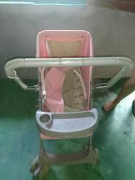 Carrinho de bebê rosa 80$
