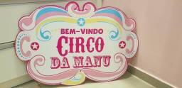 Elipse circo rosa da Manu