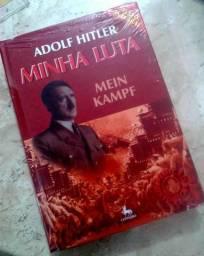 Livro - Minha Luta - Mein Kampf - Adolf Hitler - Novo Lacrado