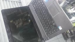 Notebook positivo dual core. 2gb. 320 HD só falta bateria. Liga normal