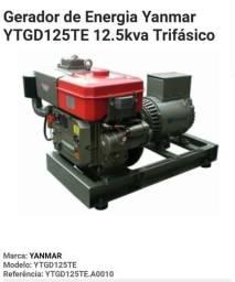 Grupo gerador Yanmar YTGD125TE 12.5 kva