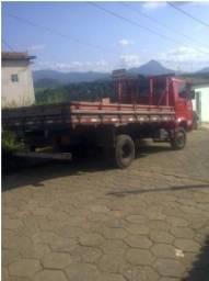 Caminhão volkswagen vermelho 1987 diesel - 1987