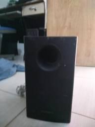 Caixa de som somente grave
