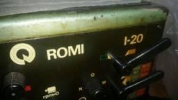 Torno Romi I20 completo e conservado