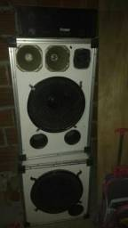 Caixa de Som e Amplificador