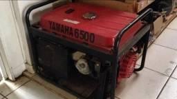 Gerador de energia elétrica 6500w yamaha completo