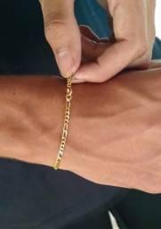 Pulseira Banhada a Ouro