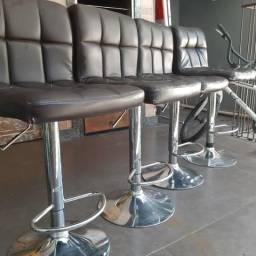 Cadeiras R$150,00 as quatro