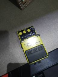 Pedal de guitarra Boss turbo overdrive