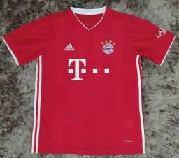 Vende-se camisas originais Bayern de munich MERCADORIA EM MÃOS