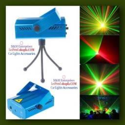 Mini Projetor Laser para decoração de Festa entrega grátis