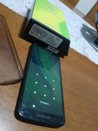 Moto G6 play Aceito cartão