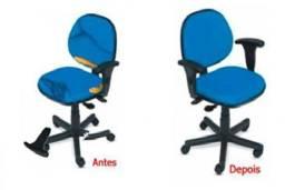 Consertamos cadeiras de escritório