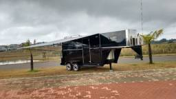 Trailler pra rodeio, para 2 Cavalos 5º roda! Impecável