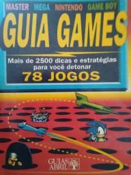 Guia games 1992 - coleção Guias Abril