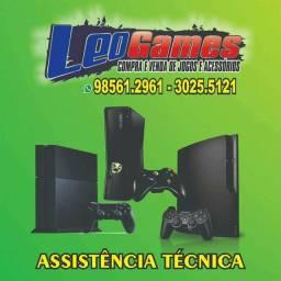 Assistência técnica especializada Leogames
