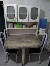Armário de cozinha com mesa comprar usado  Garanhuns
