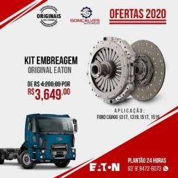 KIT EMBREAGEM ORIGINAL EATON FORD CARGO 1317/1517/1519/1419