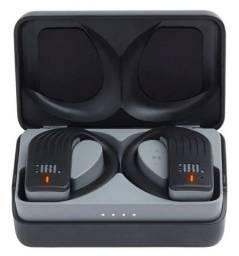 Fone De Ouvido Jbl Endurpeakblk Bluetooth C/ Case Esportivo