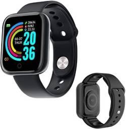 Relógio Inteligente SmartWatch Y68 (Monitoramento de saúde)