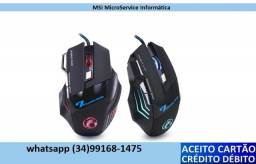 Mouse Gamer, mousem sem fio e mouse simples