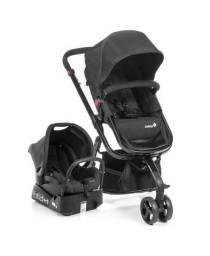 Carrinho e bebê conforto Safety Mobi.