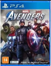 Marvel Vingadores PS4 - Mídia Física - Novo Lacrado