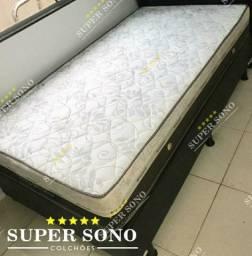Conj Box Sleep Pocket Ortosleep Solteiro 88x188 Mola Ensacada A Pronta Entrega