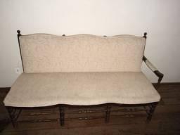 Sofá estilo namoradeira madeira pura